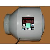 Extractor De Aire  Entre Caño De 15 Cm -ideal Cultivo Indoor