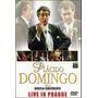 Plácido Domingo Live In Prague Dvd Original