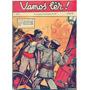 Revista Vamos Lêr Nº 3! 20  Ago 1936! Capa Cavalleira Original