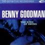 Cd Benny Goodman - The King Of Swing Original