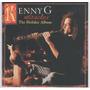 Cd Lacrado Importado Kenny G Miracles The Holiday Album 1994 Original
