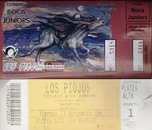 Entrada Los Piojos Boca Juniors 10-12-2005 ( Big Bang Rock )