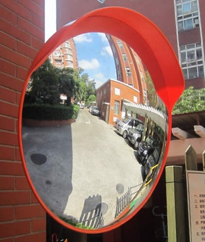 Espejo De Seguridad Convexo  80 Cm De Diametro Foto 2