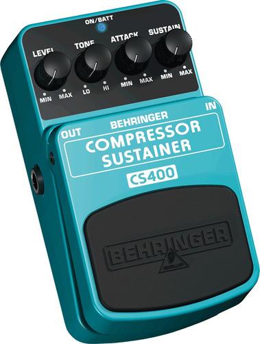 Pedal Compressor Sustainer Behringer Guitarra Bajo Teclado +