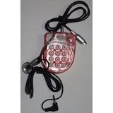 Mini Teléfono Portátil Micrófono Diadema Rj11 Nuevo Oferta