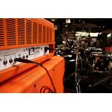 Orange Cable 6 Metros Ficha Plug Recta / Recta 6 Cuotas