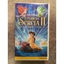 A Pequena Sereia 3 Fita Cassete K7 Vhs Dublado Disney Raro Original
