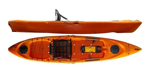 Kayak Hidro2eko Caiman 125 Naranja - Kayaks Feelfree