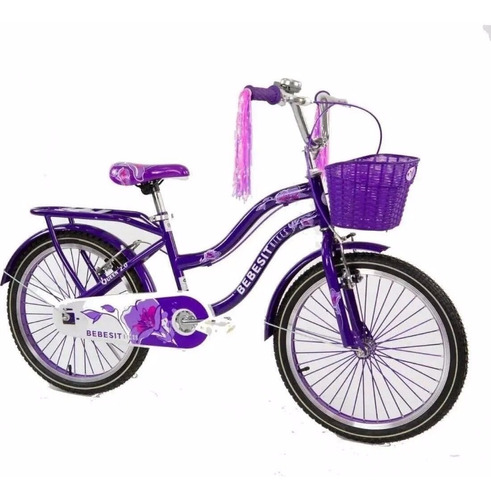 Bicicleta Rodado 20 Queen Bebesit Hawaii5cerro.