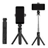 Bastón Monopod Palo Selfie Bluetooth Y Trípode Para Celular