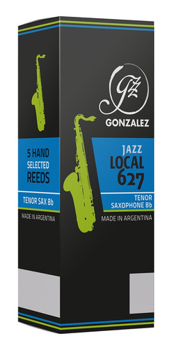 Cañas Gonzalez Local 627 Jazz Para Saxo Tenor