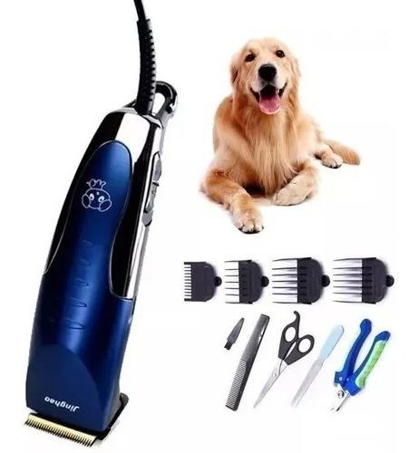Maquina Cortar Pelo Perros Cortadora Canina + Accesorios !!