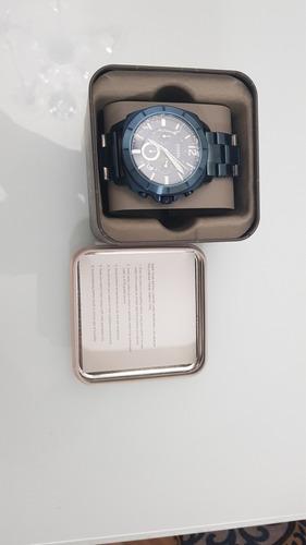 Relógio Fóssil Blue Navy