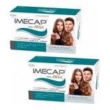 Kit C/02 Imecap Hair Max Caixa 30 Capsulas