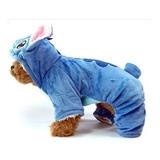 Ropa Abrigo Disfraz Para Mascotas Perro Modelo Stitch
