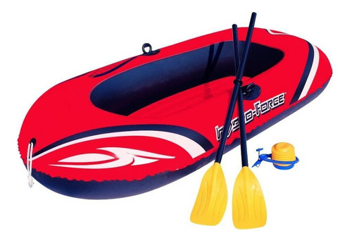 Bote Inflable 2 Personas Bestway Con Remos Rafting
