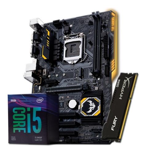 Combo Actualización Gamer Intel I5 9400 H310 8gb