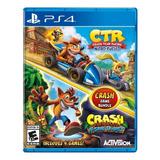 Crash Bandicoot Bundle - N. Sane Trilogy + Ctr Nitro-fueled Activision Ps4 Físico