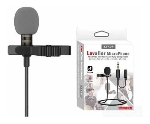Micrófono Lavalier Clip Solapa Balita Condensador Jh-043
