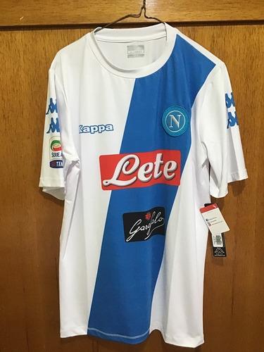 Jersey Napoli Italia Serie A Kappa Original Visita 2017-2018