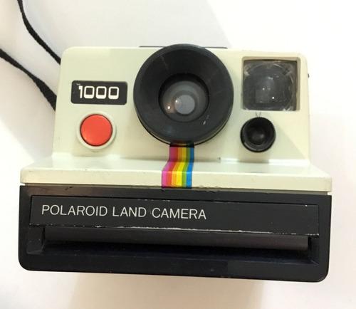 Polaroid 1000 Land Camera Retro Vintage Antiguedad