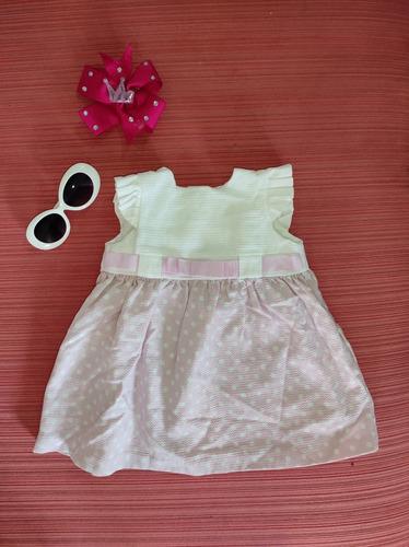 Vestido Rosa Epk Para Niñas Talla 12 Meses