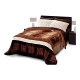 Cobertor Dormi Real Microfibra Y Borrega King Noruega