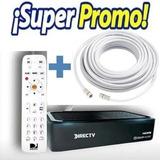 Decodificador Directv Full Hd Prepago Activado +cable Coaxil