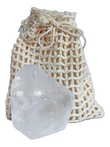 Desodorante Natural Piedra Alumbre 80 Gr 100% Natural