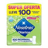 Nosotras P/d Anatomicos 100u