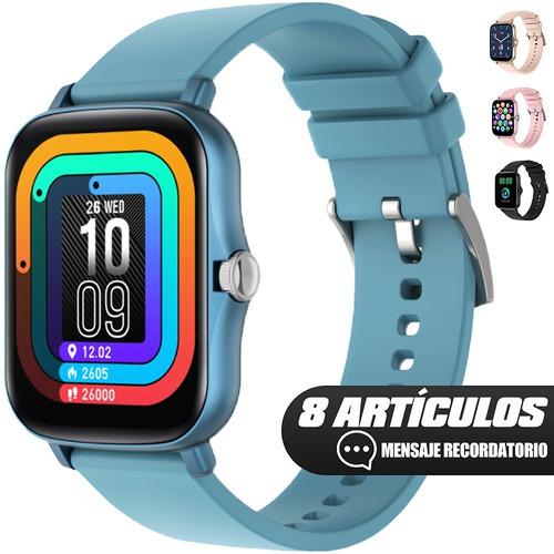 Smartwatch Y20 Band Inteligente 1.7'' Táctil Deportivo Reloj