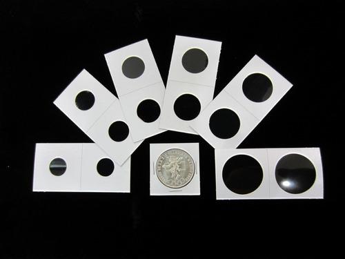 Paquete De 50 Cartones Para Moneda 2 X 2 Marca B C W