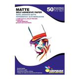 Papel Adhesivo Matte Fotografico Opaco A3/135g/50 Hojas