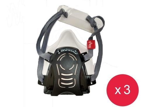 Pack X 3 Unidades Ma5k + 150 Filtros De Regalo