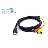 Cable Adaptador Hdmi A Rca Con Audio