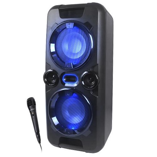 Equipo De Musica Parlante Bluetooth Winco W240 Luces +microf