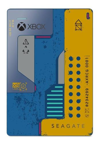 Disco Duro Externo Seagate 2 Tb Cyberpunk Pc Xbox