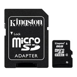 Tarjeta De Memoria Kingston Sdc4 Con Adaptador Sd 8gb