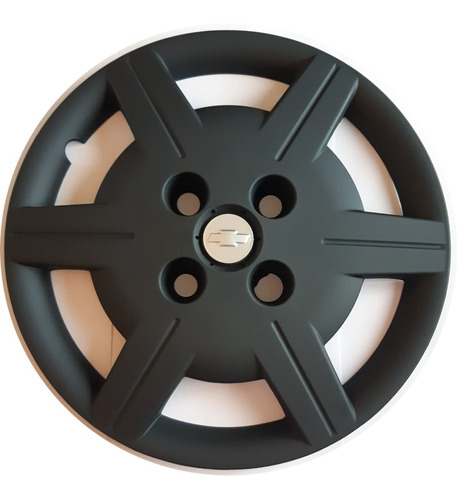 Juego 4 Tazas De Rueda Chevrolet Corsa Rodado 13 Negra