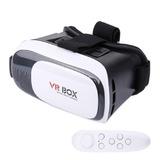 Casco Vr Box Realidad Virtual Smartphone 3d Joystick Control