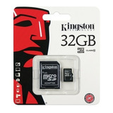 Memoria Microsd Kingston 32gb Clase 10 Sd Oferta Loi