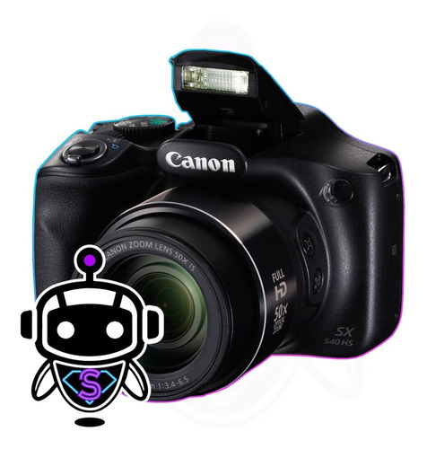 Camara Canon Sx540 Hs + 50x Zoom + 128gb + Maleta + Tripode