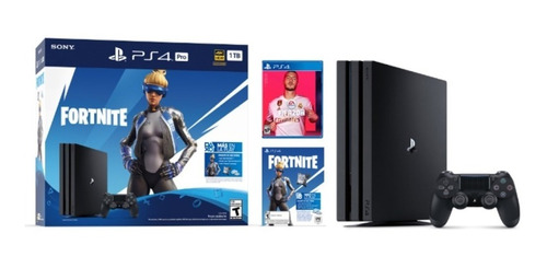 Sony Playstation Ps4 Pro 1tb Fortnite Neo Versa + Fifa 20