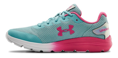 Tenis Unisex Under Armour Gs Surge 2 Pris Azul