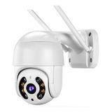 Cámara De Seguridad Wifi Exterior Con Alarma 1080p