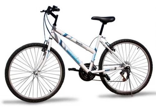 Promo Top Agrandada Con Bicicleta Ultrabike Rodado 26 Dama