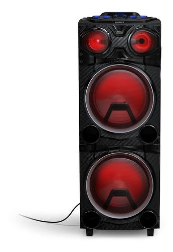 Parlante Torre Portatil Bluetooth Philips Tax3705/77 200w