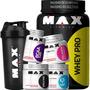 Kit Hipertrofia E Definição Muscular Max Titanium Original