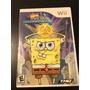 Bob Esponja Atlantis Squarepantis Nintendo Wii Original