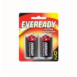 Pila Eveready D Grande Extra Durac. (blister X 2 Unidades)..
